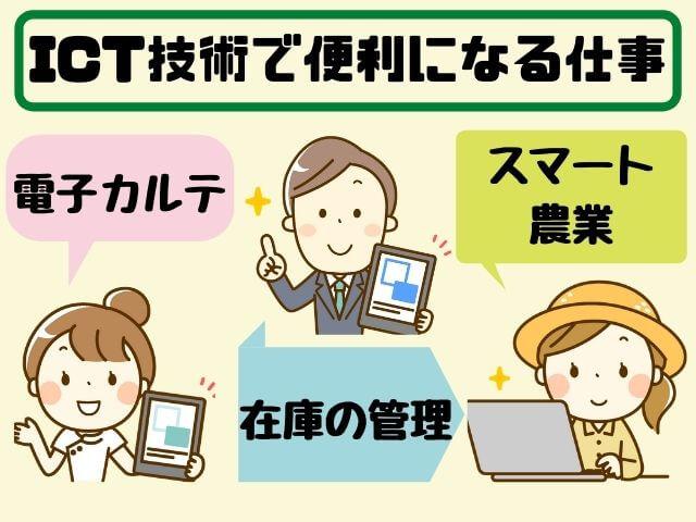 ICTで便利になる仕事
