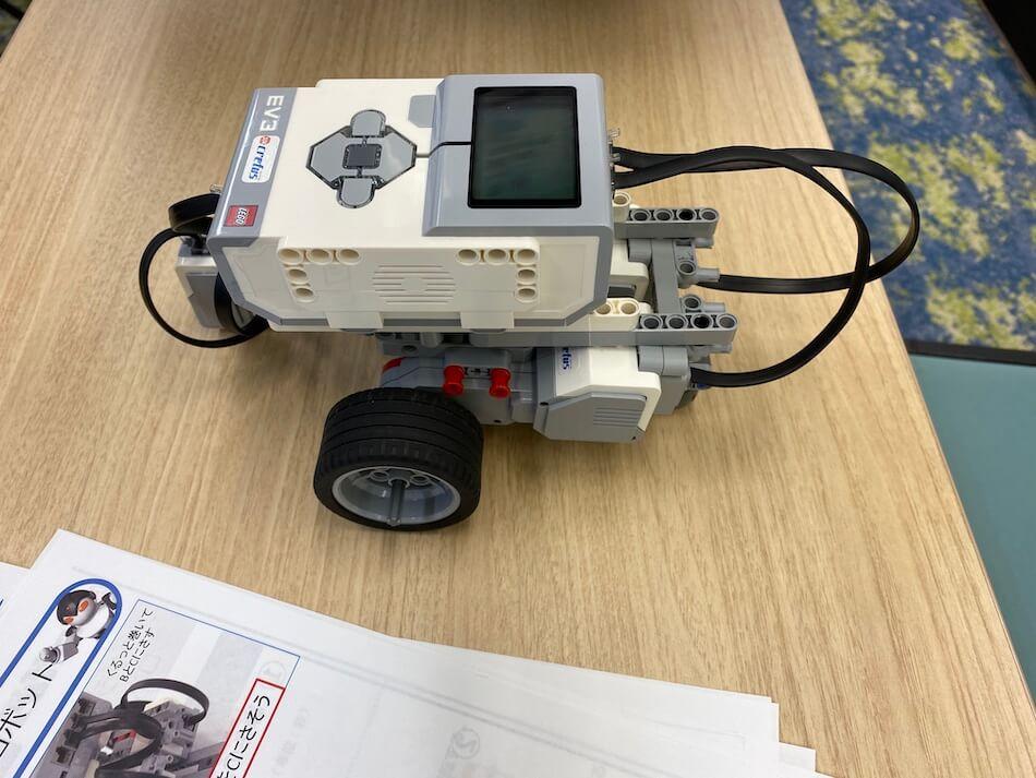 小4娘が作ったロボット